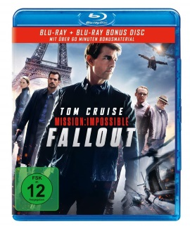 """Das Blu-ray-Cover von """"Mission: Impossible - Fallout"""" (© Paramount Pictures)"""