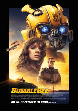 "Das Hauptplakat von ""Bumblebee"" (© Paramount Pictures)"