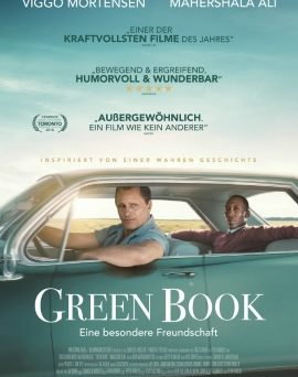 "Das Plakat von ""Green Book"" (©eOne Germany)"