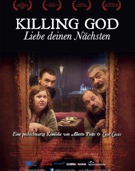 """Das Plakat von """"Killing God – Liebe deinen Nächsten"""" (© Lupus/Farbfilm)"""