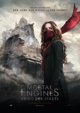 """Das Plakat von """"Mortal Engines - Krieg der Städte"""" (© 2018 Universal Pictures)"""