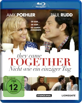 """Das Blu-ray-Cover von """"They Came Together"""" (© StudioCanal)"""