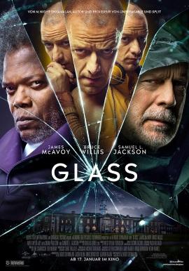 "Das Hauptplakat von ""Glass"" (© Walt Disney Studios Motion Pictures Germany)"