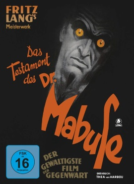 """Das Artwork des Mediabooks von """"Das Testament des Dr Mabuse"""""""