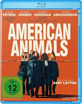 "Das Blu-ray-Cover von ""American Animals"" (© Ascot Elite)"