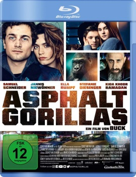"Das Blu-ray-Cover von ""Asphaltgorillas"" (© Constantin Film)"
