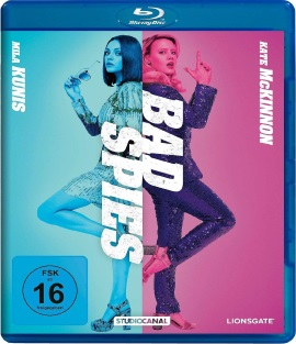 "Das Blu-ray-Cover von ""Bad Spies"" (© StudioCanal)"