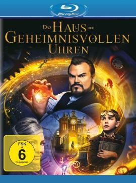"""Das Blu-ray-Cover von """"Das Haus der geheimnisvollen Uhren"""" (© Universal Pictures)"""
