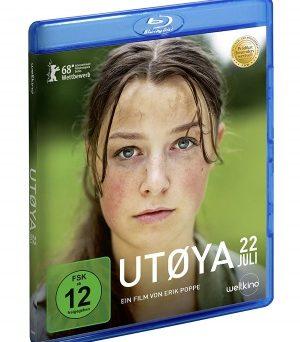 """Das Blu-ray-Cover von """"Utøya 22. Juli"""" (© Weltkino)"""