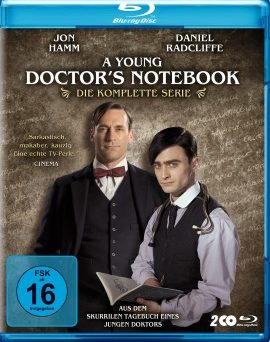 "Das Blu-ray-Cover zur kompletten Serie ""A Young Doctor's Notebook"" (© Polyband)"