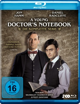 """Das Blu-ray-Cover zur kompletten Serie """"A Young Doctor's Notebook"""" (© Polyband)"""