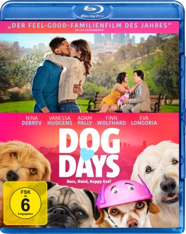 "Das Blu-ray-Cover von ""Dog Days – Herz, Hund, Happy End!"" (© Koch Media)"
