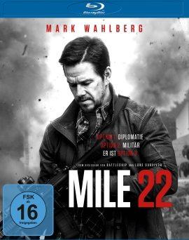 """Das Blu-ray-Cover von """"Mile 22"""" (© Universum Film)"""