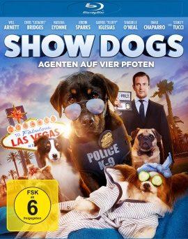 "Das Blu-ray-Cover von ""Show Dogs"" (© Universum Film)"