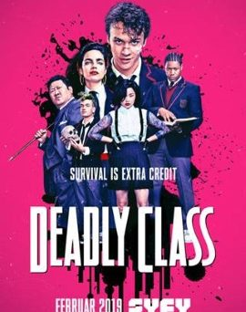 "Das Artwork von ""Deadly Class"" (© 2017 Syfy Media. LLC)"