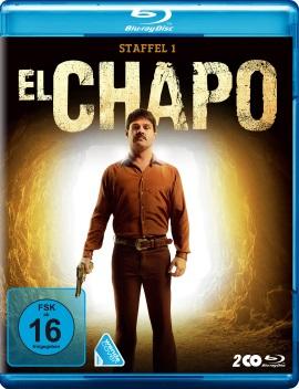 "Das Blu-ray-Cover von ""El Chapo Staffel 1"" (© Polyband)"