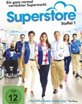 "Das DVD-Cover von ""Superstore Staffel 1"" (© Polyband)"