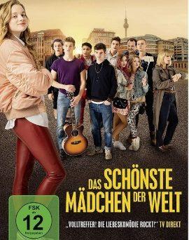 """Das DVD-Cover von """"Das schönste Mädchen der Welt"""" (©Nadja Klier/Tobis Film GmbH)"""