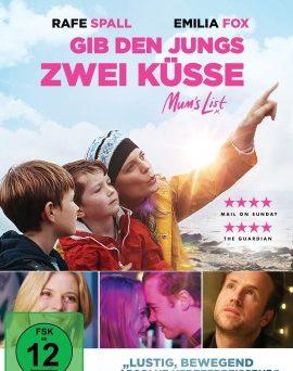 """Das DVD-Cover von """"Gib den Jungs zwei Küsse"""" (© Pandastorm Pictures)"""