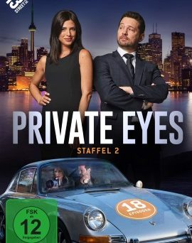 "Das DVD-Cover von ""Privat Eyes Staffel 2"" (© Edel:motion)"