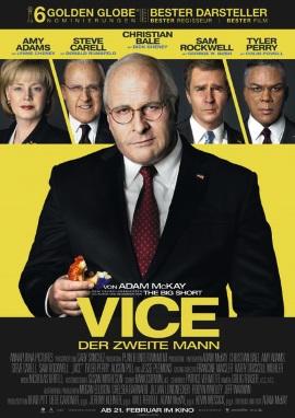 """Das Hauptplakat von """"Vice - Der zweite Mann"""" (© Universum Film)"""
