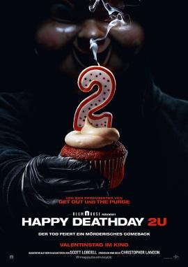 """Das Hautplakat von """"Happy Deathday 2U"""" (© Universal Pictures)"""