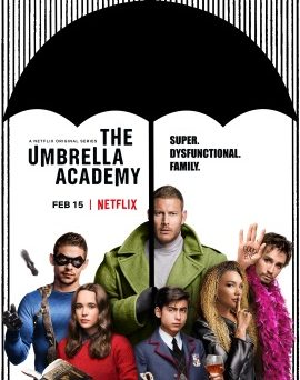 """Das US-Artwork der ersten Staffel """"Umbrella Academy"""" (© Netflix)"""