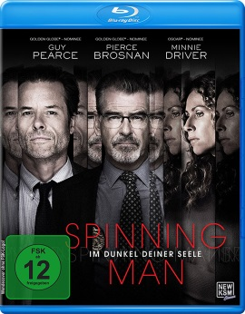 """Das Blu-ray-Cover von """"Spinning Man - Im Dunkel deiner Seele"""" (© KSM Film)"""