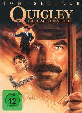 """Das Mediabook-Artwork von """"Quigley der Australier"""" (© Capelight Pictures)"""