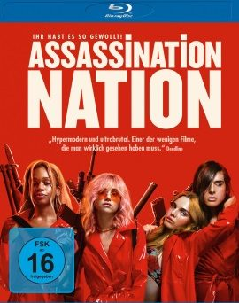 "Das Blu-ray-Cover von ""Assassination Nation"" (© Universum Film)"