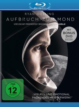 """Das Blu-ray-Cover von """"Aufbruch zum Mond"""" (© Universal Pictures International Germany)"""