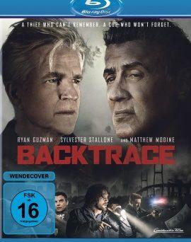"""Das Blu-ray-Cover von """"Backtrace"""" (© Constantin Film)"""