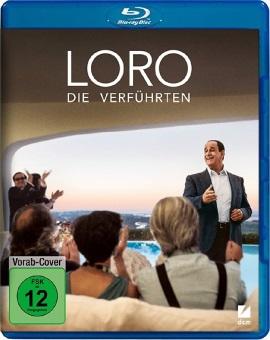 """Das Blu-ray-Cover von """"Loro - Die Verführten"""" (© DCM Film)"""