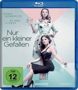 """Das Blu-ray-Cover von """"Nur ein kleiner Gefallen"""" (© StudioCanal)"""