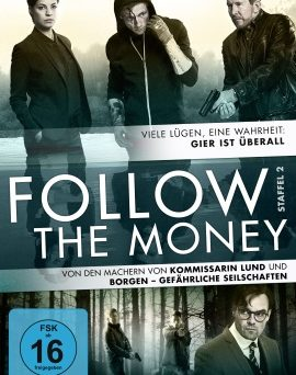 "Das DVD-Cover von ""Follow The Money Staffel 2"" (© EDEL motion)"