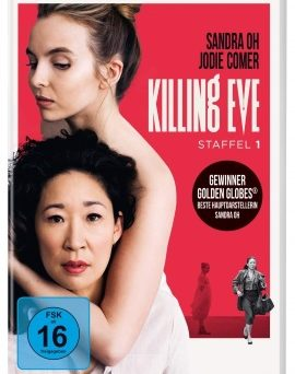 "Das DVD-Cover von ""Killing Eve Staffel 1"" (© Universal Pictures/BBC America)"