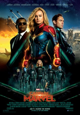 "Das Hauptplakat von ""Captain Marvel"" (© Marvel/Disney)"