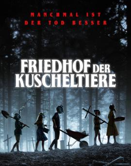 """Das Hauptplakat von """"Friedhof der Kuscheltiere"""" (© Paramount Pictures)"""