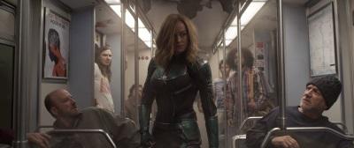 Captain Marvel im Einsatz (© Marvel/Disney)