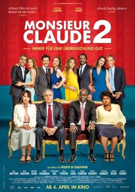 """Das Hauptplakat von """"Monsieur Claude 2"""" (© Neue Visionen Filmverleih)"""