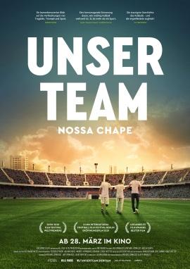 """Das Hauptplakat von """"Unser Team - Nossa Chape"""" (© Weltkino)"""