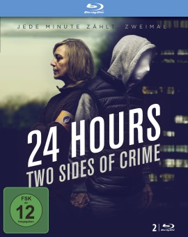 """Das Blu-ray-Cover von """"24 Hours - Two Sides Of Crime"""" (© Justbridge Entertainment)"""