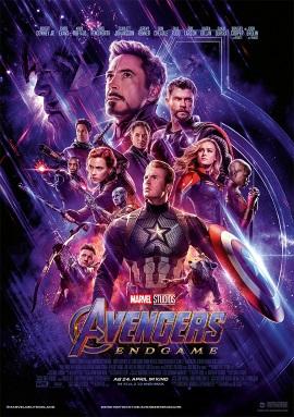 "Das Hauptplakat von ""Avengers Endgame"" (© Marvel/Disney)"