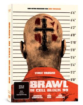 """Das Mediabook-Artwork von """"Brawl in Cell Block 99"""" (©Capelight Pictures)"""