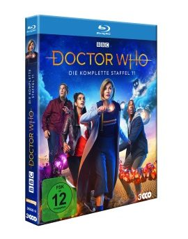 "Das Blu-ray-Cover von ""Doctor Who Staffel 11"" (© Polyband)"