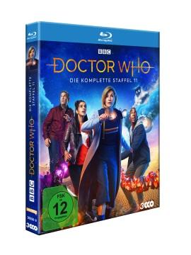 "Das Blu-ray-Cover von ""Doctor Who Staffel 11"" (© Polyband)"