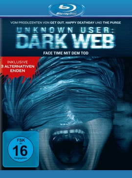 "Das Blu-ray-Cover von ""Unknown User - Dark Web"" (© Universal Pictures)"