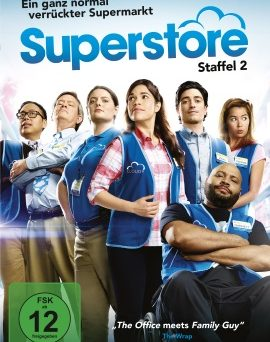 "Das DVD-Cover von ""Superstore Staffel 2"" (© Polyband)"