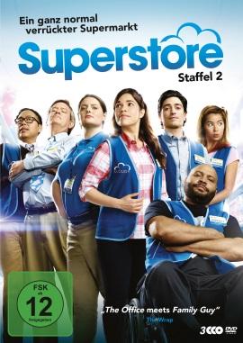 """Das DVD-Cover von """"Superstore Staffel 2"""" (© Polyband)"""