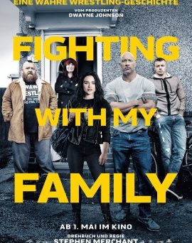 "Das Hauptplakat von ""Fighting With My Family"" (© Universal Pictures)"